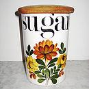 Vintage 60s Sugar Jar