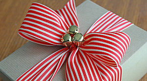 Grosgrain Stripe Ribbon - christmas ribbon