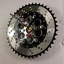 BMX Two Tone Chainring Clock