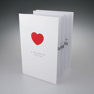 Love Card - sentimental cards