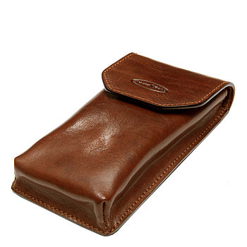'Gabbro' Leather Glasses Case