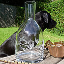 Engraved Country Carafe