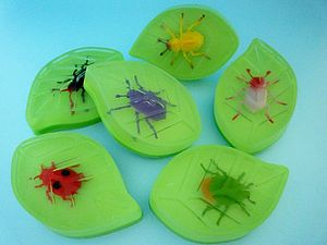 Handmade It's A Bugs Leaf Soap - bathroom