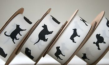 5M Animal Print Ribbon - Cats and Dogs