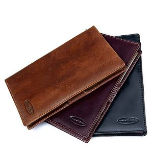 'Sestino' Leather Golf Card Holder
