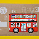London Bus Stationery Holder