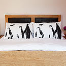 Set Of Two Penguin Dream Pillowcases
