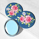 Floral Fabric Pocket Mirror