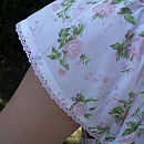Rose nightdress - sleeve detail