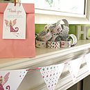 Girl's Personalised Party Decorations / 20 Designs