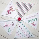 Personalised Bunting Ready to Thread