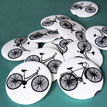 Bicycle Fabric Badge