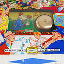 Vintage Gottlieb Pinball Coffee Table