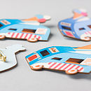 Ice Cream Van Brooch