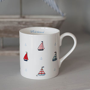 Port & Starboard China Mug - mugs