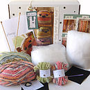 Two Plump Flumps Knitting Kit- Gift Horse Kits