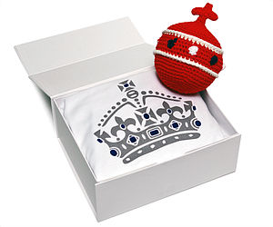 Baby Orb Rattle And T Shirt Gift Set