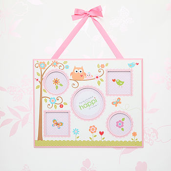 Girl's Hanging Multi Picture Frame, Slight Seconds