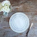 25 China Plate Serving Papers