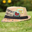 Black Fedora Sun hat
