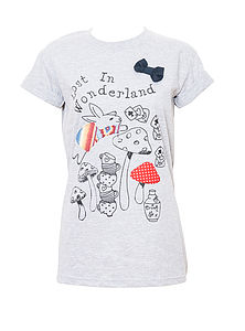 'Lost In Wonderland' T Shirt