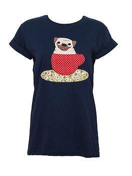 Pug In A Teacup T Shirt