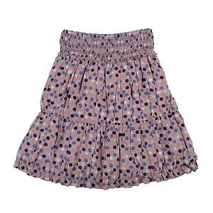 Multi Coloured Spotted Skirt - clothing