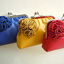 Ruffelle Adele Soft Leather Clutch Bag