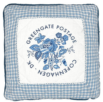 Greengate Postage Design Cushion