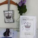 'London 2012' Crown Cross Stitch Kit, Standard