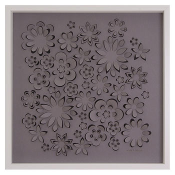 Personalised Laser Cut Flower Power Artwork