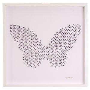 Laser Cut Butterfly Effect Artwork