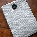 Retro Fabric Grey Cover For Kindle
