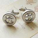 Car Tyre Cufflinks