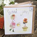 Set Of Three Thank You Cards With Seeds