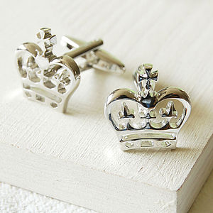 Crown Cufflinks - for him