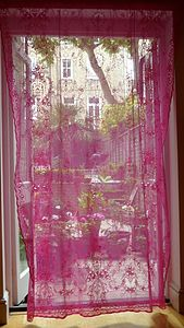Vintage Style Lace Curtain - curtains & blinds