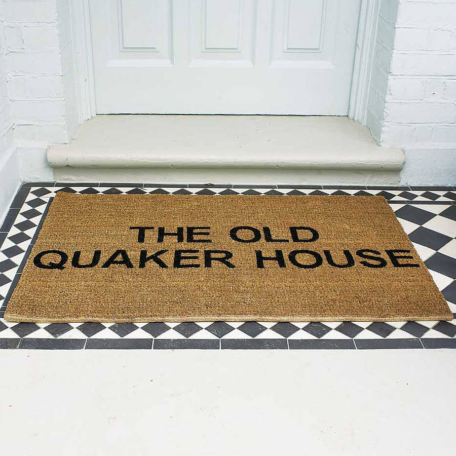 Personalised Doormat By The Letteroom
