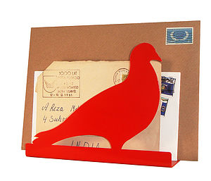 Pigeon Post Letter Rack - stationery