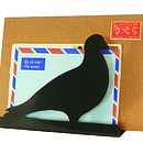 Pigeon Post Letter Rack