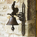 Cast Iron Farmhouse Door Bell
