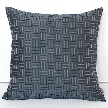 Checks Jacquard Cushion