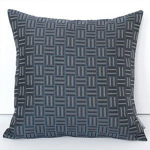 Checks Jacquard Cushion - cushions
