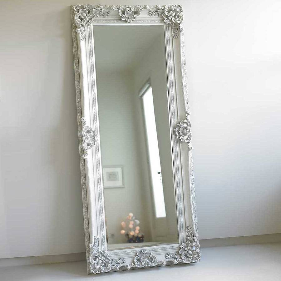 Vintage and unusual mirrors notonthehighstreet ornate wooden mirror in four colours bedroom amipublicfo Choice Image