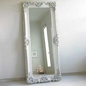 Ornate Wooden Mirror In Four Colours - home accessories