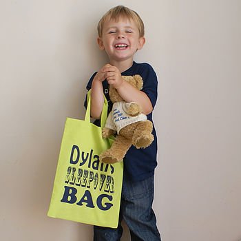 Personalised Child's Activity Shopper Bag