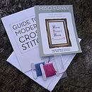 'Home Sweet Home' Cross Stitch Kit