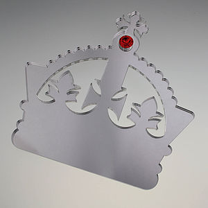 Large Magnetic Crown Wall Hook