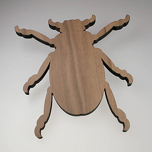 Large Magnetic Beetle Wall Hook