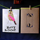 'Happy Birthday' Birdie Card